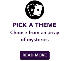Pick a Theme | Choose from an array of mysteries | Read more